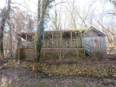 Eureka Springs Single Family Home For Sale: 26 Mill Hollow RD