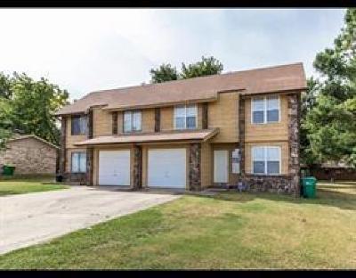 Springdale Multi Family Home For Sale: 1502 N Pleasant ST Unit #A&B #A&B