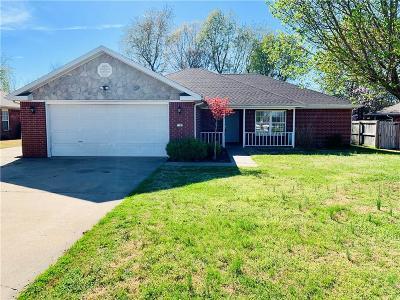 Springdale AR Single Family Home For Sale: $173,000