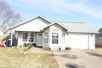 Siloam Springs Single Family Home For Sale: 1611 E Wildwood LN