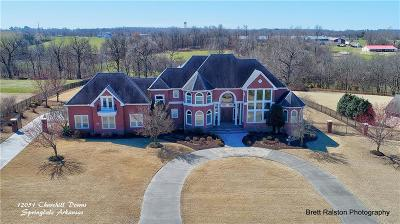 Springdale AR Single Family Home For Sale: $875,000