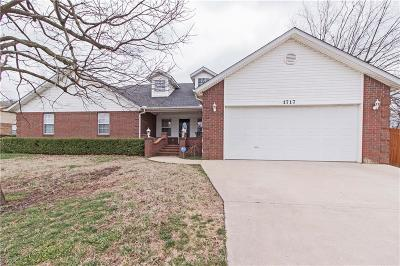 Springdale Single Family Home For Sale: 1717 Reed AVE