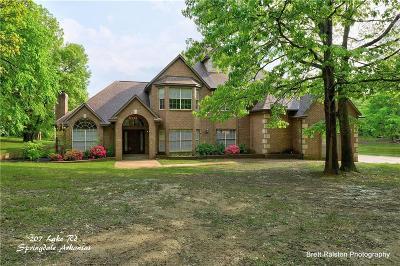 Springdale Single Family Home For Sale: 207 Lake RD
