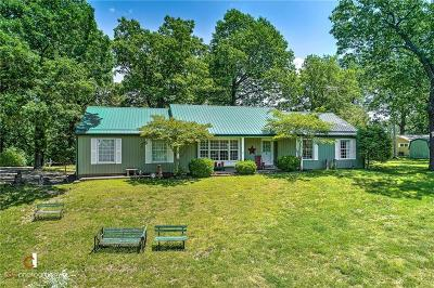 Eureka Springs Single Family Home For Sale: 125 County Road 1522