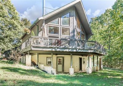Eureka Springs Single Family Home For Sale: 2450 CR 102