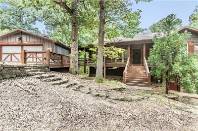 Eureka Springs, Rogers, Lowell Single Family Home For Sale: 357 Lakeshore RD