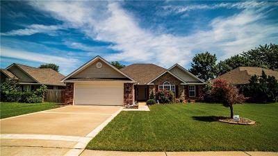 Fayetteville Single Family Home For Sale: 5050 Chimon WY