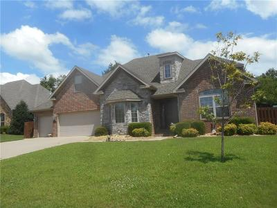 Bentonville Single Family Home For Auction: 1701 Quail Ridge WY