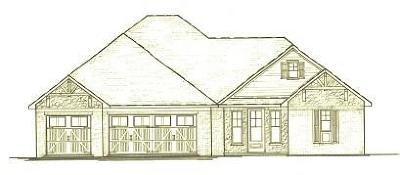 Centerton Single Family Home For Sale: Lot 20 Bristol LN