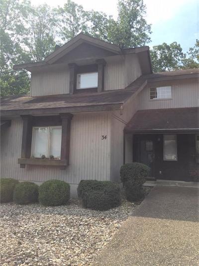 Bella Vista AR Condo/Townhouse For Sale: $125,000