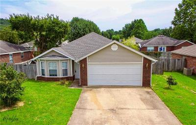 Fayetteville Single Family Home For Sale: 1344 S Camellia LN