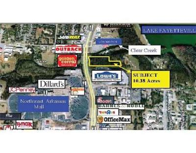 Fayetteville Residential Lots & Land For Sale: Us Highway 71 B (College Avenue) Hwy