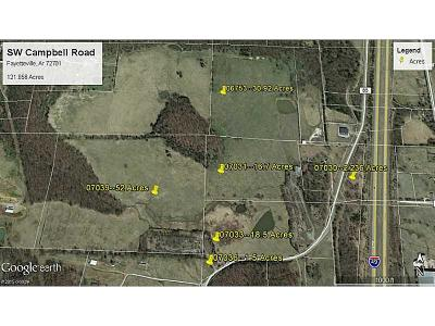Fayetteville Residential Lots & Land For Sale: SW Campbell Road