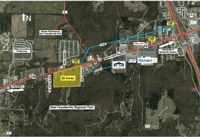 Fayetteville Residential Lots & Land For Sale: 4005 Martin Luther King Blvd W