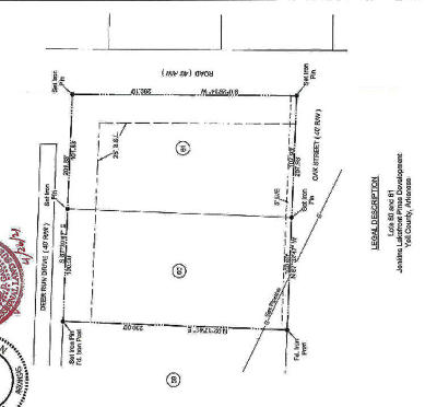 Dardanelle Residential Lots & Land For Sale: 60-61 Deer Run Drive
