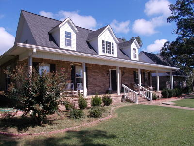 Clarksville Single Family Home For Sale: 600 Stegall Road