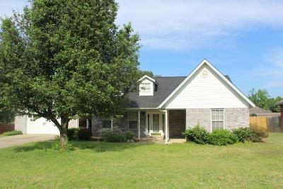 Clarksville Single Family Home For Sale: 129 Cherokee Lane