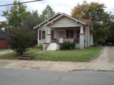 Clarksville Single Family Home For Sale: 307 N Montgomery Street