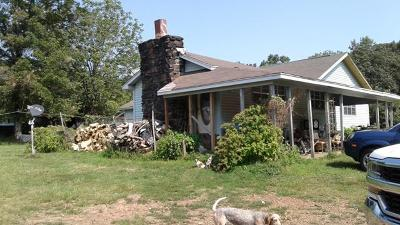 Dover Single Family Home For Sale: 182 B Whitted Rd