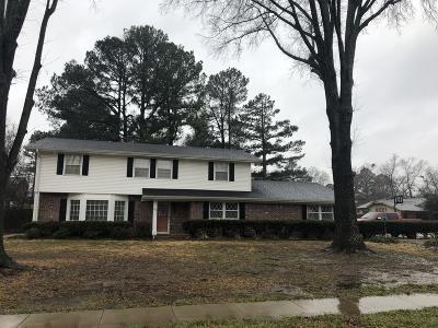 Russellville Single Family Home For Sale: 1819 Bradley Lane