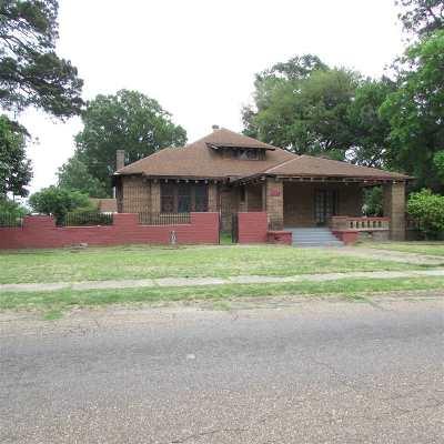 Texarkana Single Family Home For Sale: 1124 Hickory