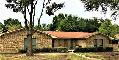 New Boston TX Single Family Home For Sale: $129,900