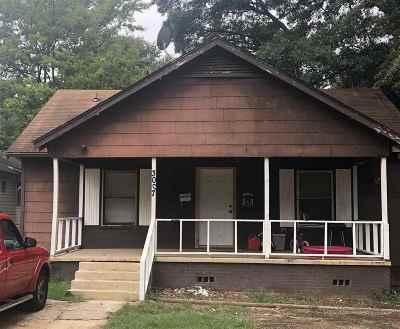 Texarkana Single Family Home For Sale: 3007 Walnut Street