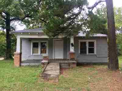 Texarkana Single Family Home For Sale: 3801 Hazel Street