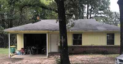 Texarkana TX Single Family Home For Sale: $45,000