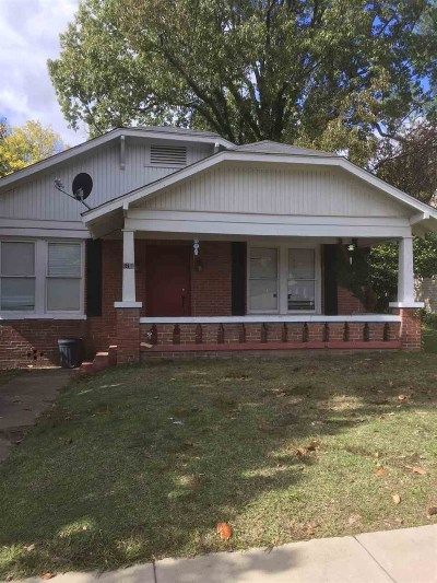 Texarkana Single Family Home For Sale: 1701 Locust
