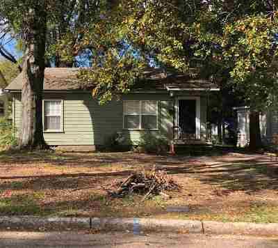 Texarkana Single Family Home For Sale: 2911 Walnut St