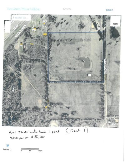 Simms Residential Lots & Land For Sale: Tbd County Road 4240 Tract 1