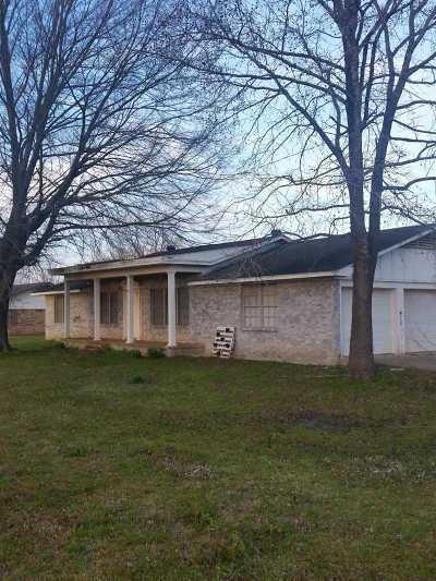 Hooks Single Family Home For Sale: 3366 Fm 1398 #Barkman