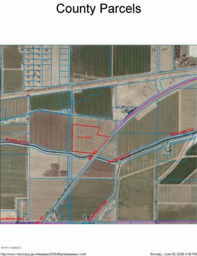 Goodyear Residential Lots & Land For Sale: 17850 W Mc 85 Highway