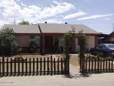 Phoenix AZ Single Family Home Sold: $125,000