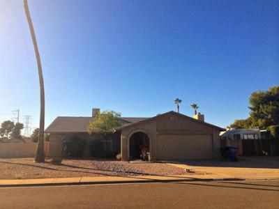 Mesa AZ Single Family Home Sold: $165,000