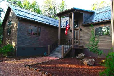 Pinetop Single Family Home For Sale: 3197 Aspen Loop