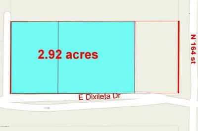 Scottsdale Residential Lots & Land For Sale: 16394 E Dixileta Drive