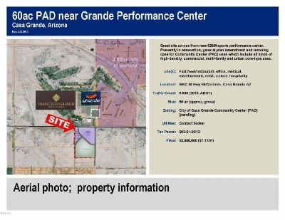 Casa Grande Residential Lots & Land For Sale: Sec Hwy 84 And Guinn Drive