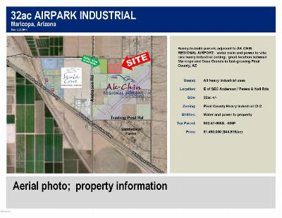 Casa Grande Residential Lots & Land For Sale: E Of Sec Peters And Nall Road/Anderson Road