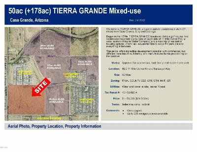 Casa Grande Residential Lots & Land For Sale: Sec 11 E Sunscape Way