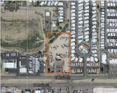 Apache Junction Residential Lots & Land For Sale: 10152 E Main Street