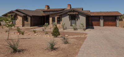 Prescott Single Family Home For Sale: 15590 N Hatfield Drive