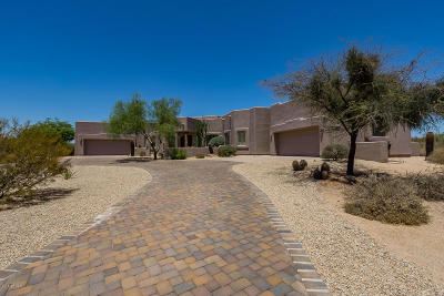 Pima Acres Single Family Home For Sale: 9022 E Diamond Rim Drive