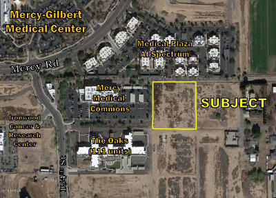 Gilbert Residential Lots & Land For Sale: 15511 E Willis Road