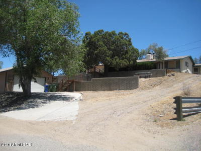 Prescott Single Family Home For Sale: 2823 Willow Creek Road