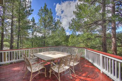 Flagstaff Single Family Home For Sale: 622-2202 Dad Hawks