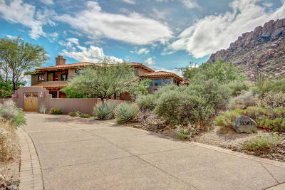 Scottsdale Single Family Home UCB (Under Contract-Backups): 11387 E Yearling Drive