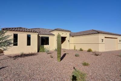 Single Family Home For Sale: 16450 E Los Saguaros Court