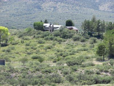 Yavapai County Single Family Home For Sale: 14935 W Kirkland Hillside Road